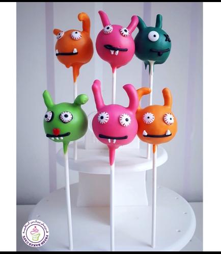 UgllyDolls Themed Cake pops