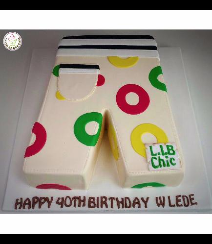 Ugly Pants Themed Cake