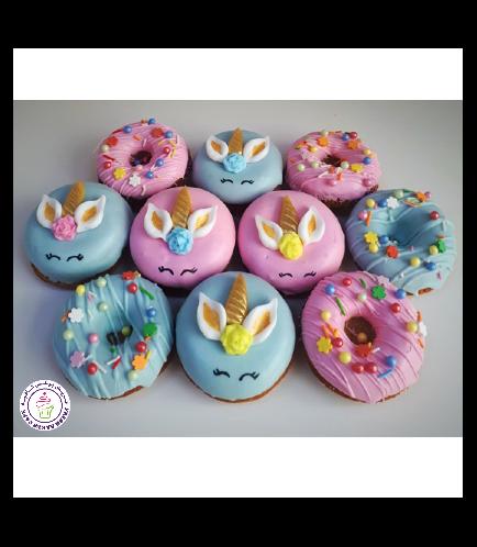 Unicorn Rabbit Themed Donuts