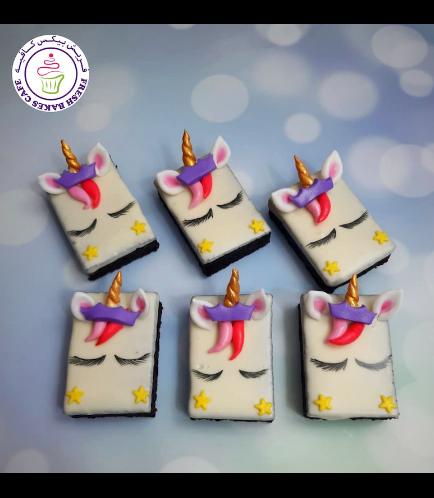 Unicorn Themed Brownies 04