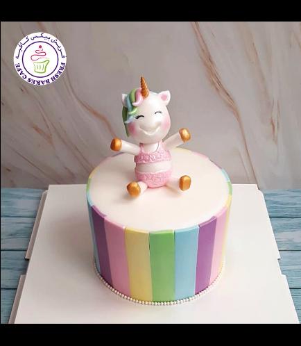 Cake - 3D Cake Topper - 1 Tier - Swimsuit