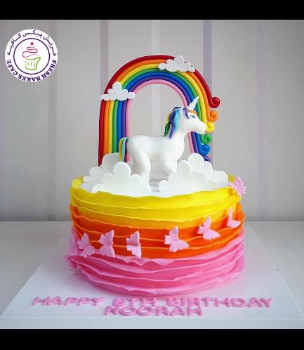 Cake - 3D Cake Topper  - 1 Tier 002a