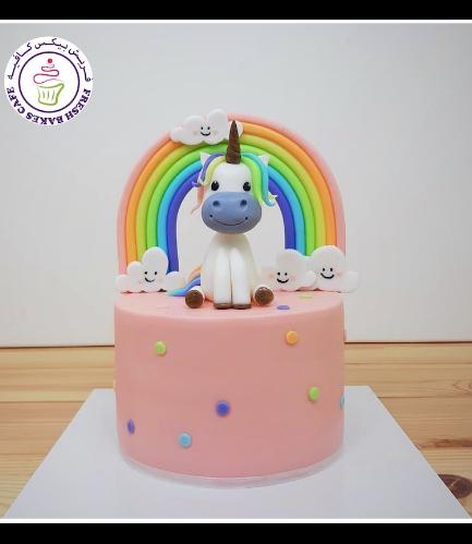 Cake - 3D Cake Topper - 1 Tier 024a