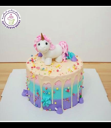 Cake - 3D Cake Topper - 1 Tier 025