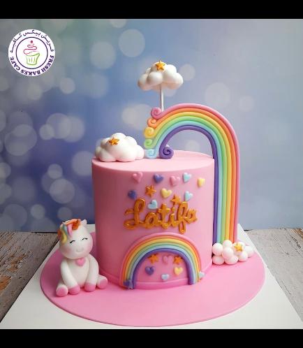 Cake - 3D Cake Topper - 1 Tier 034
