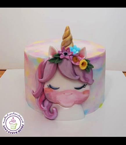 Cake - Picture - 2D Fondant - Front - 1 Tier 009