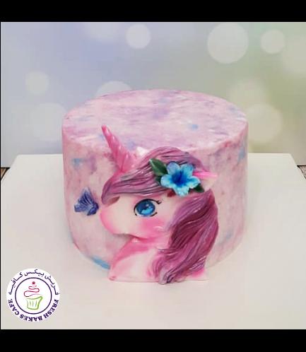 Cake - Picture - 2D Fondant - Front - 1 Tier 010