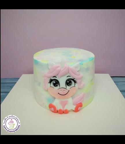 Cake - Picture - 2D Fondant - Front - 1 Tier 011