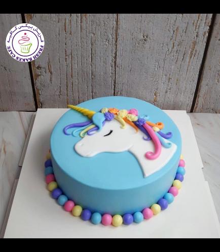Cake - Picture - 2D Fondant - Top - 1 Tier 005