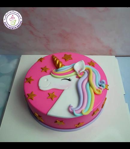 Cake - Picture - 2D Fondant - Top - 1 Tier 006