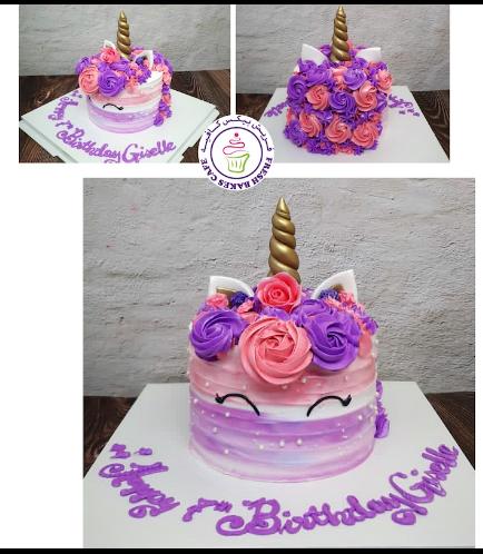 Cake - Unicorn - Cream Cake - Shaded 03