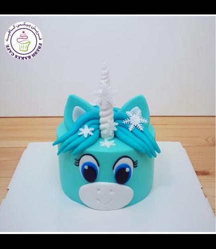 Cake - Snowflakes 02