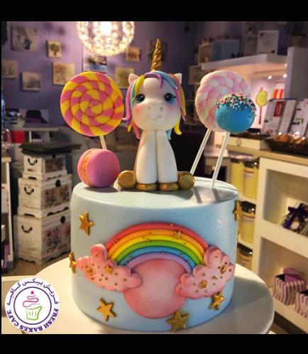 Cake - 3D Cake Topper - 1 Tier 006
