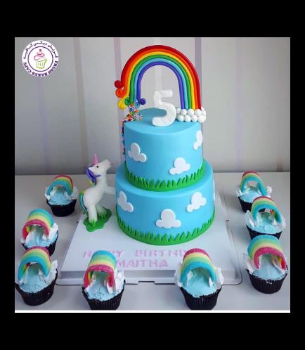 Cake - 3D Cake Topper - 2 Tier 002b