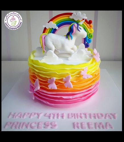 Cake - 3D Cake Topper  - 1 Tier 002