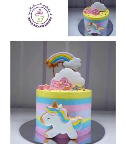 Unicorn Themed Cake 76a