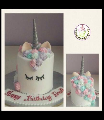 Unicorn Themed Cake 9