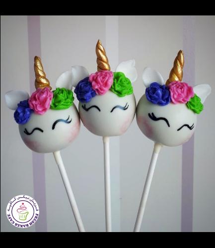 Cake Pops - Up - Flowers 03d