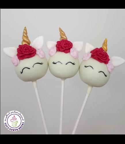 Cake Pops - Up - Flowers 08