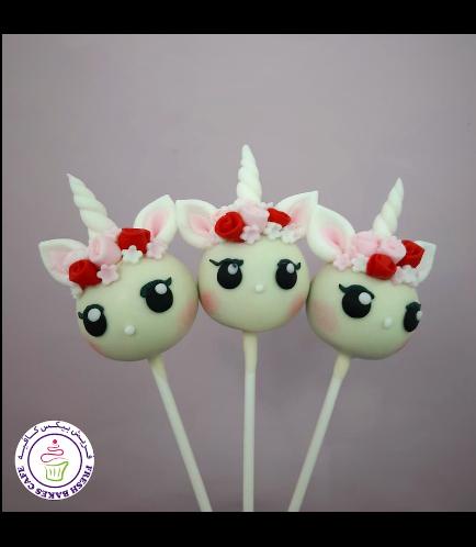 Cake Pops - Up - Flowers 12