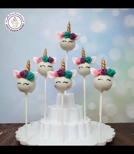 Cake Pops - Up - Flowers 13