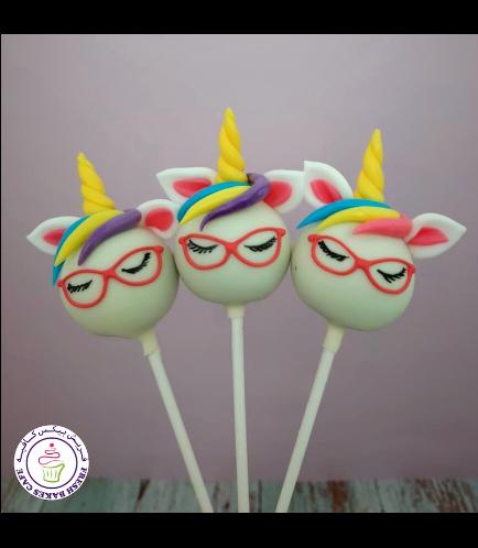 Cake Pops - Up - Hair & Bow Tie - Glasses