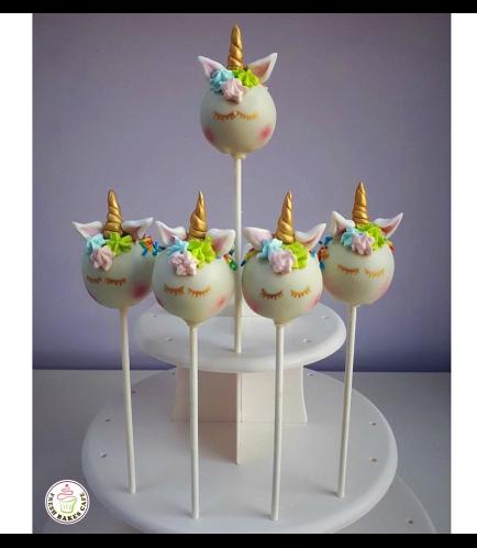 Unicorn Themed Cake Pops 7