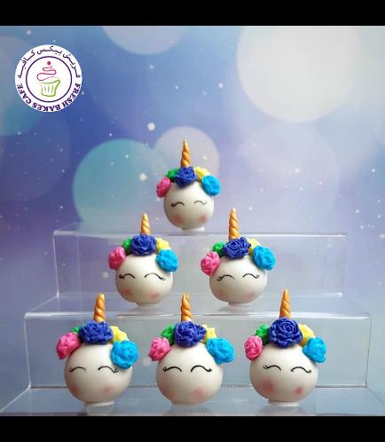 Cake Pops w/o Sticks - Flowers 04