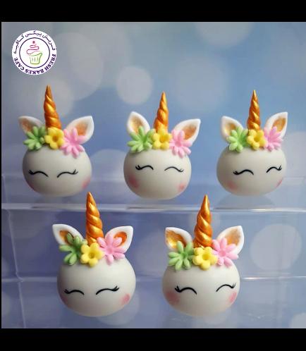 Cake Pops w/o Sticks - Flowers 02