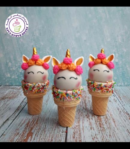 Cone Cake Pops - Flowers 03b