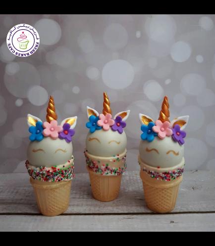 Cone Cake Pops - Flowers 11