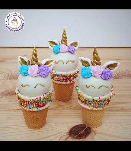 Cone Cake Pops - Flowers 17
