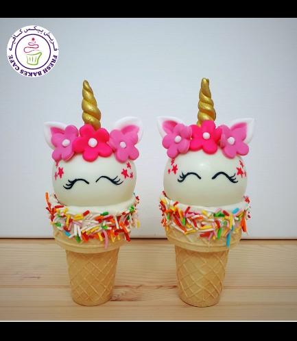 Cone Cake Pops - Flowers 19