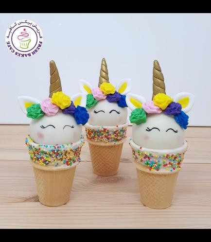 Cone Cake Pops - Flowers 20