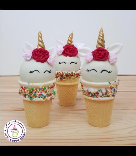 Cone Cake Pops - Flowers 21
