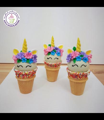 Cone Cake Pops - Flowers 22