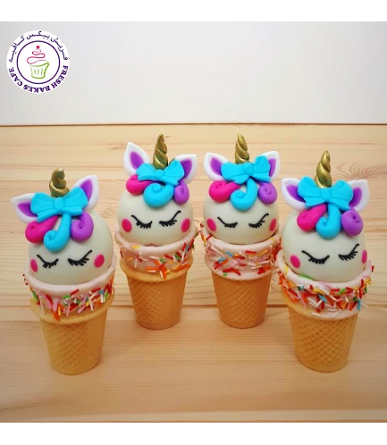 Cone Cake Pops - Hair & Bow Tie