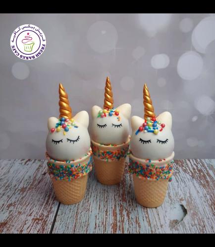 Cone Cake Pops - Sprinkles 01