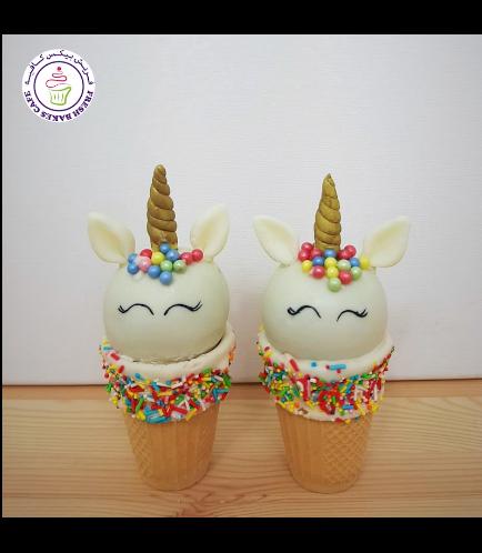 Cone Cake Pops - Sprinkles 03