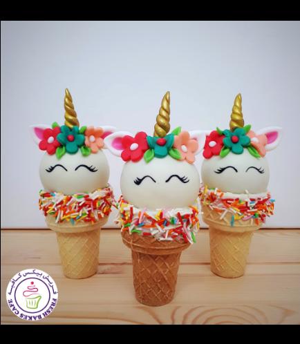 Cone Cake Pops - Flowers 15