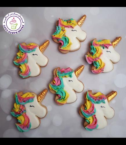 Cookies - Unicorn Head 04