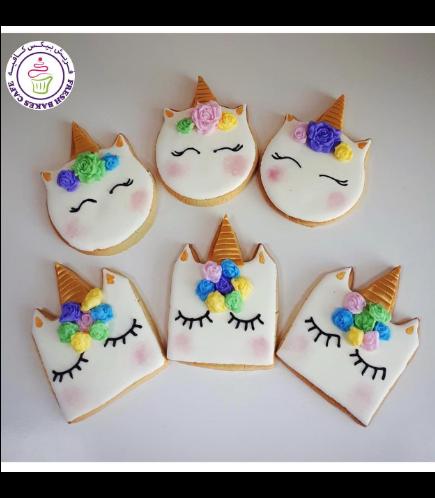 Cookies - Unicorn Face 01