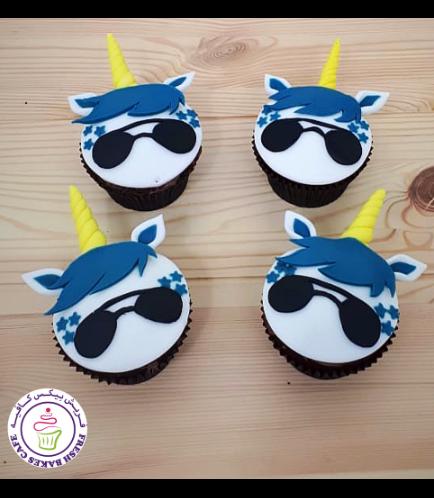 Cupcakes - Fondant - Boy 01
