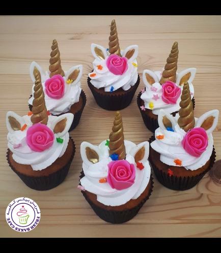 Cupcakes - Cream - Flowers 01