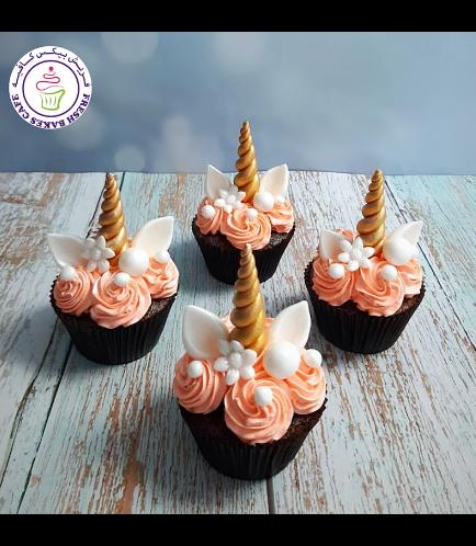 Cupcakes - Cream - Flowers 03