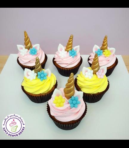 Cupcakes - Cream - Flowers 05
