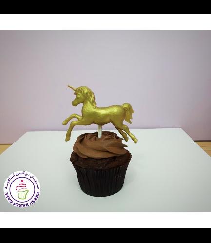 Cupcakes - Fondant - 3D Topper