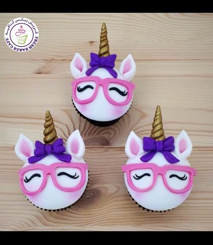 Cupcakes - Fondant - Bow Tie & Glasses