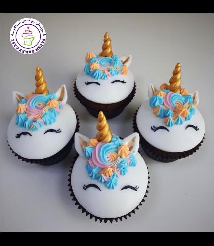 Cupcakes - Fondant - Cream Piping 01b