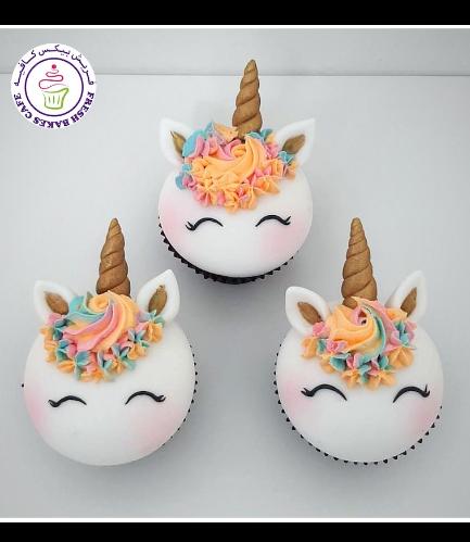 Cupcakes - Fondant - Cream Piping 02
